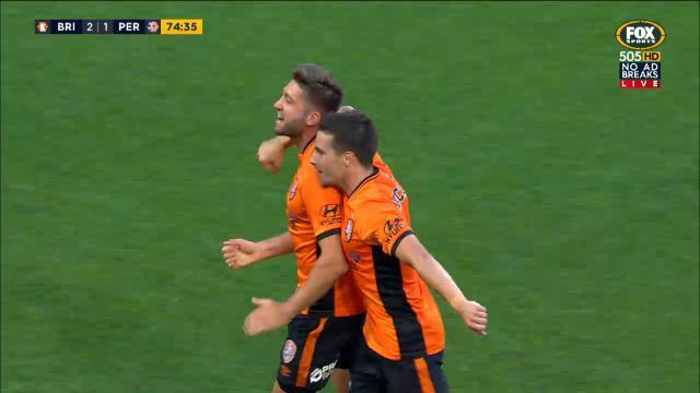 Borello strike gets Roar home