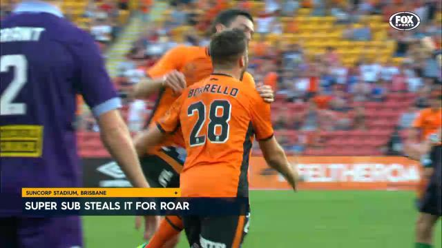 Super sub seals win for Roar