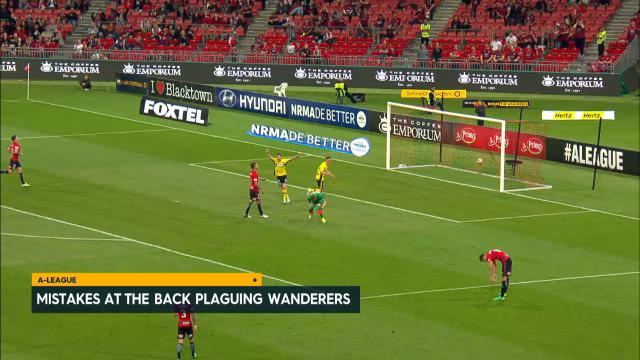 Wanderers' keeper troubles