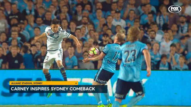Sydney handed victory