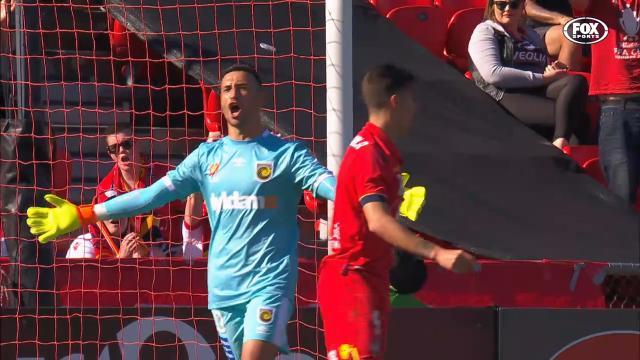 Elrich cross leads to penalty