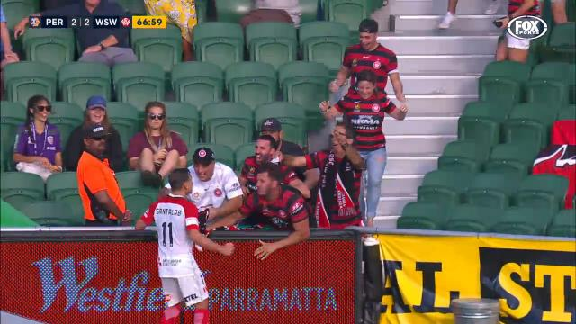 Santalab equalises for WSW
