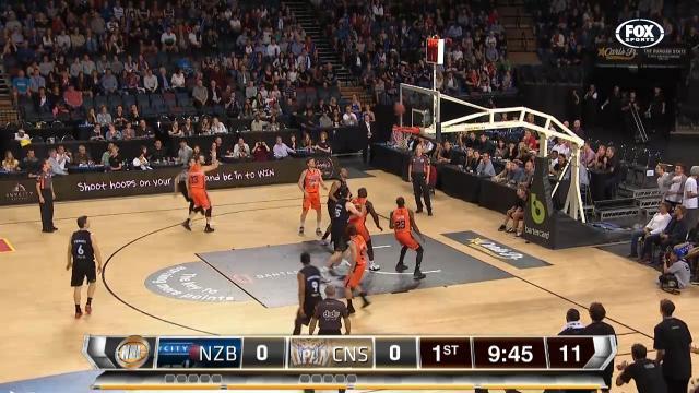 NZB v CNS: Full Game Replay