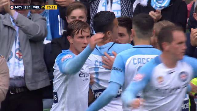 City close in on Sydney FC