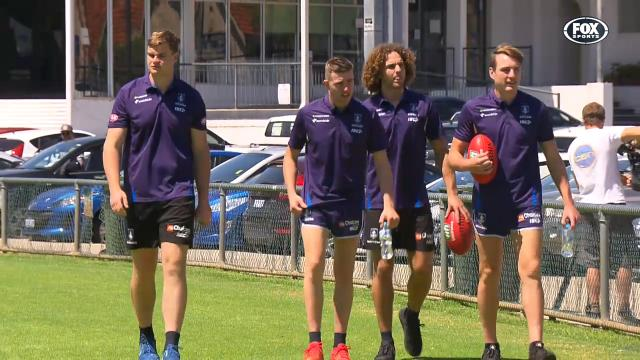 Young Dockers ready to learn