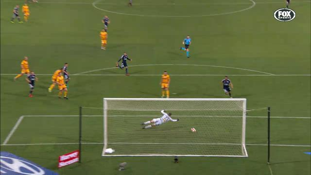 Reddy's full-stretch save