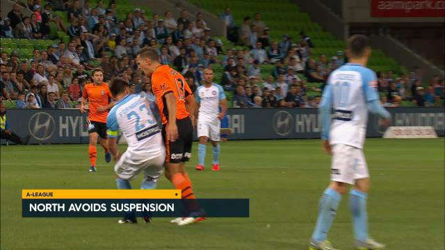 North escapes suspension