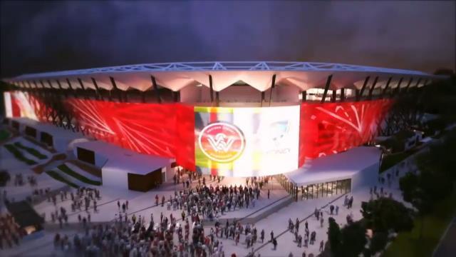 The new Parramatta Stadium