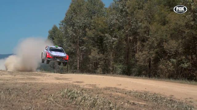 A 176km/h ride in a rally car