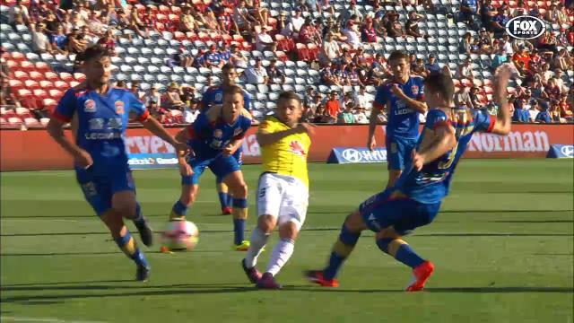 Kosta kicks first Nix goal