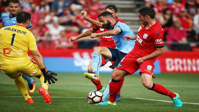 Brosque misses early chance