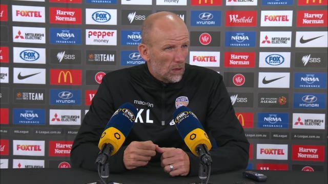 Glory press conference