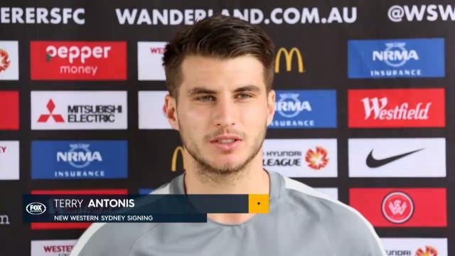 Antonis returns to A-League