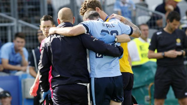 Ryall suffers serious injury