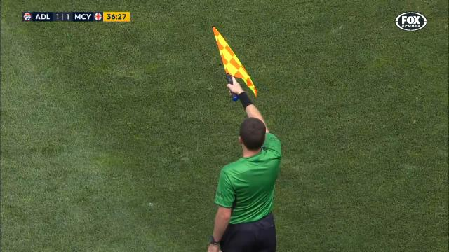 Linesman robs City of a goal