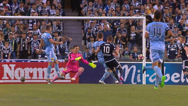 Troisi fires opening goal