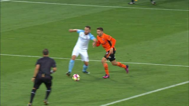 Borrello wins 'soft' penalty