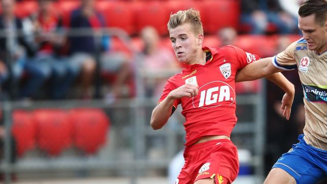 Youngster gets Socceroos call