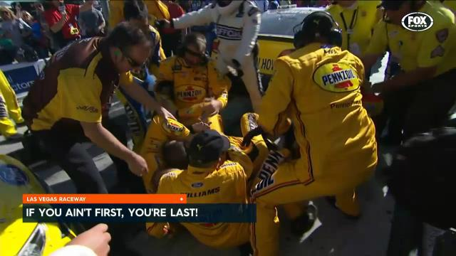 NASCAR Cup race ends in brawl
