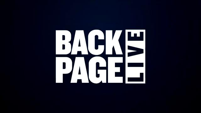 Back Page Live (14/03/17)