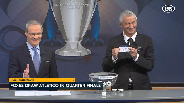 Leicester draw Atletico