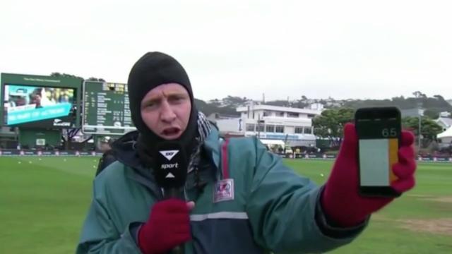 Reporter's light meter fail