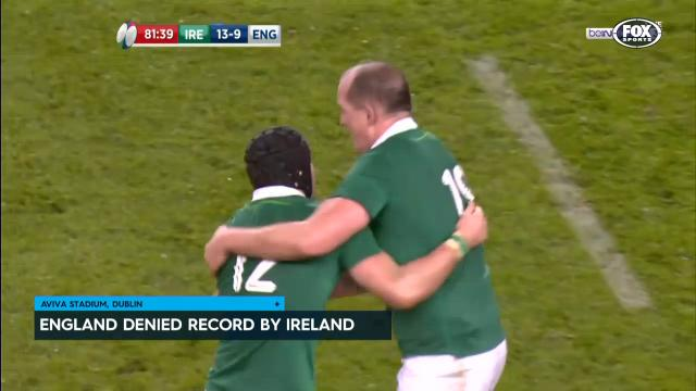 Ireland deny England history