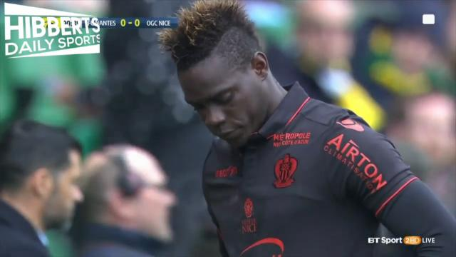 Balotelli's laces debacle