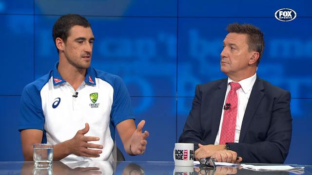 Starc joins the Back Page