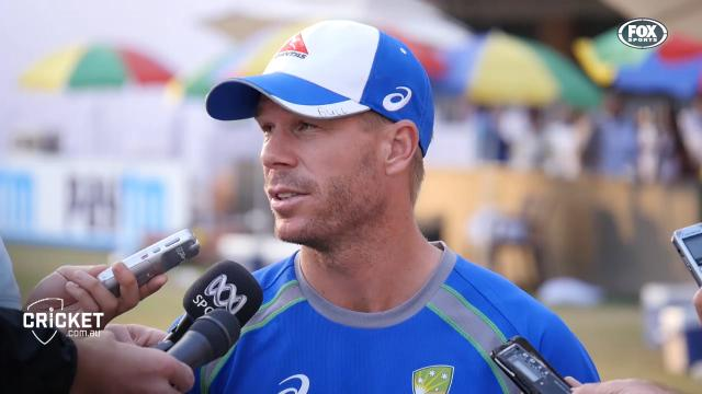 Runs will come says Warner