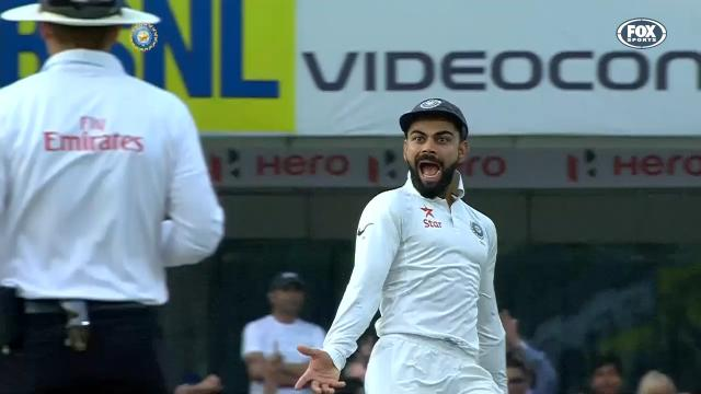 Kohli's 'over doing it'