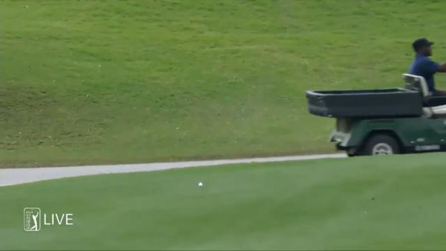 Mcilroy hits 410 yard drive