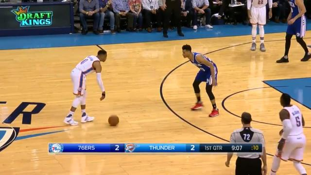 Russ's perfect triple-double