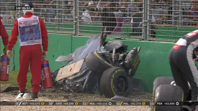Alonso's horrific crash