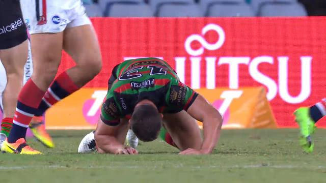 Sam Burgess KO's himself