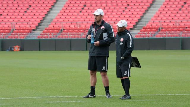 Popovic not feeling pressure