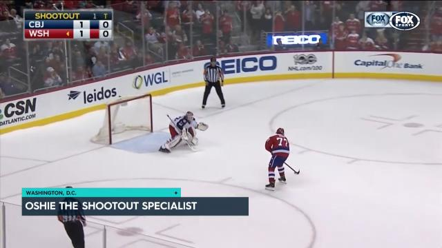 Capitals cruise in shootout