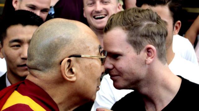 Smith's Dalai Lama blessings