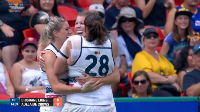 Gibson makes AFLW history