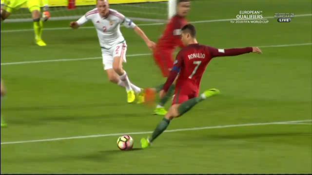 Ronaldo's left-foot cracker