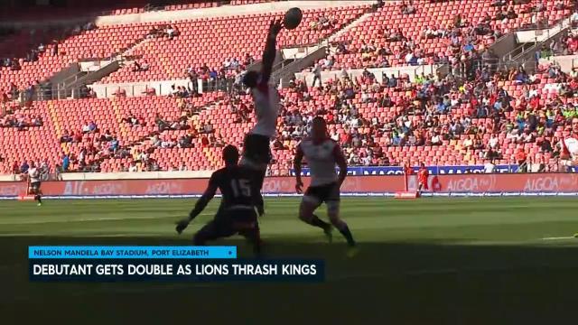 Lions thrash Southern Kings