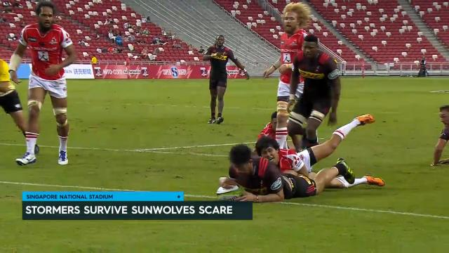 Stormers run down Sunwolves