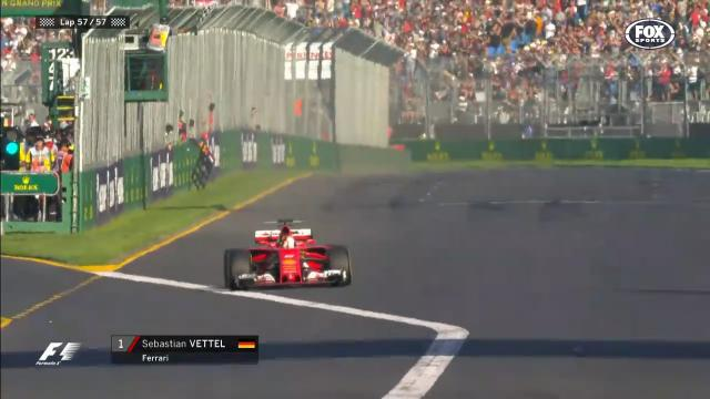 Vettel on top in Melbourne