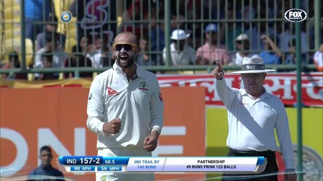 Lyon's four wicket-haul