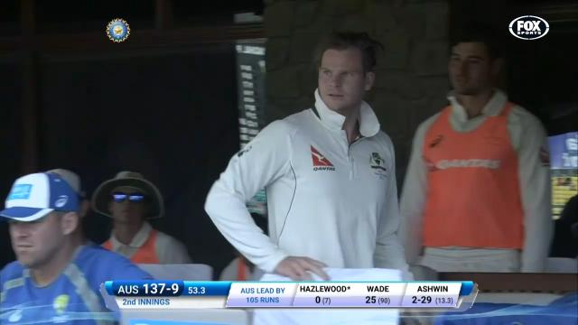 Angry Smith drops f-bomb