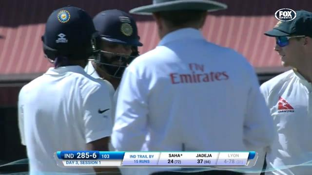 Smith, Wade & Jadeja fire up