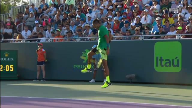 Kyrgios' Miami brilliance