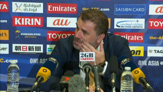 Ange's terse reply to journo