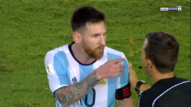 Messi's foul-mouthed spray