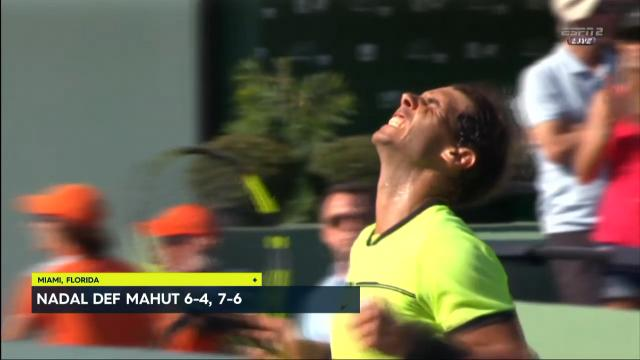 Nadal through to the quarters